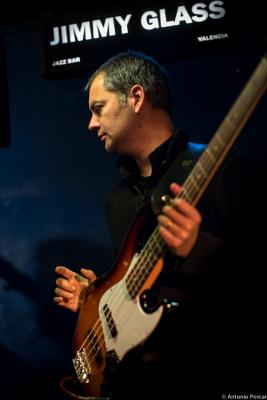 Miguel Amado (2015) en Jimmy Glass Jazz Club de Valencia