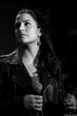 Ines Sousa (2015) en Jimmy Glass Jazz Club. Valencia.