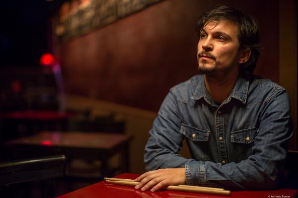 Iago Fernández (2017) en Jimmy Glass Jazz Club. Valencia.