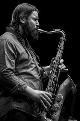 Javier Vercher at Jazz Eñe 2016. Valencia.