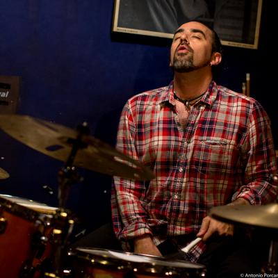 Sergio Martínez (2015) in Jimmy Glass Jazz Club. Valencia