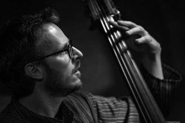 Demian Cabaud (2017) in Jimmy Glass Jazz Club. Valencia.