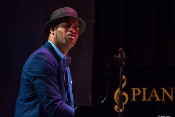 Roberto Fonseca at JazzPalencia Festival 2017.