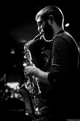 Victor Jimenez (2015) en Jimmy Glass Jazz Club. Valencia