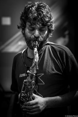 Miguel Pintxo Villar in Jazz Eñe 2015