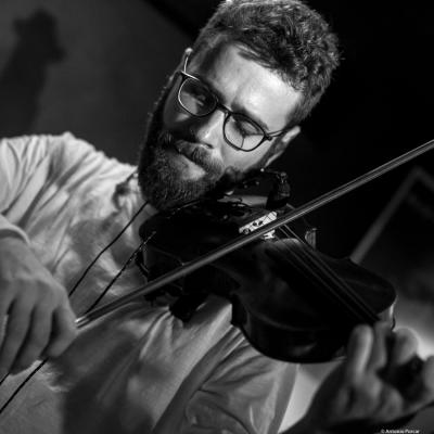 Ernesto Llorens (2017) at Jimmy Glass Jazz Club. Valencia.