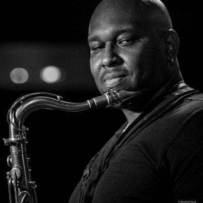 Abraham Burton (2016) in Jimmy Glass Jazz Bar. Valencia