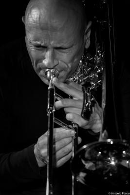 Geoffroy de Masure (2015) in Jimmy Glass Jazz Club. Valencia