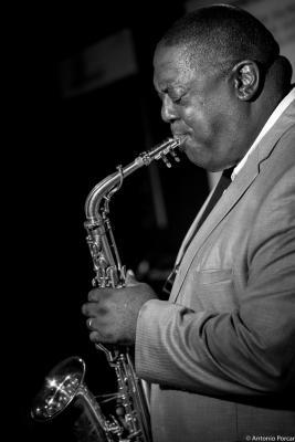 Jesse Davis (2015) in Jimmy Glass Jazz Club. Valencia