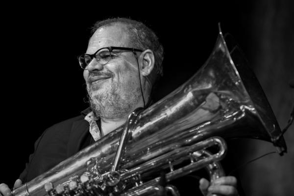 Michel Godard in Jazzinec 2016. Trutnov.