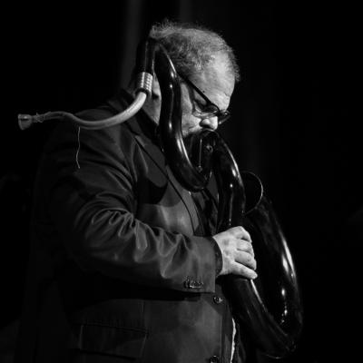 Michel Godard in Jazzinec 2016. Trutnov.