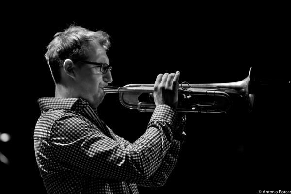 Maciej Fortuna in Jazzaldia 2015. Teatro Victoria Eugenia. San Sebastián.
