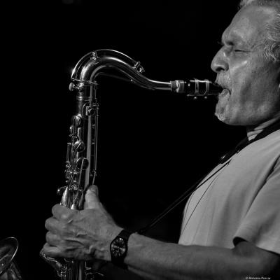 Jerry Bergonzi (2016) in Jimmy Glass Jazz Club. Valencia