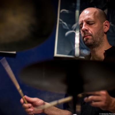 Vincent Thomas (2015) in Jimmy Glass Jazz Club. Valencia