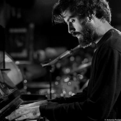 Toni Saigi Martínez (2015) in Jimmy Glass Jazz Club. Valencia.