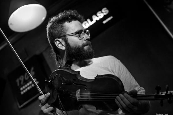 Ernesto Llorens (2017) at Jimmy Glass Jazz Club. Valencia.