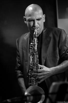 Jesús Santandreu (2015)  in Jimmy Glass Jazz Club. Valencia.