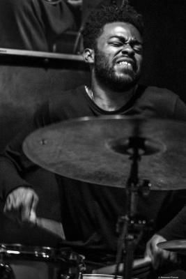 Jonathan Barber (2016) in Jimmy Glass Jazz Club. Valencia.