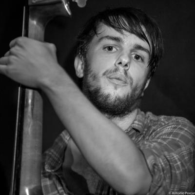 Miquel Alvarez (2015) in Jimmy Glass Jazz Club. Valencia