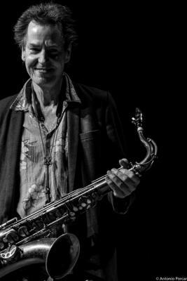 Ian Ritchie in Jazzinec 2016. Trutnov. Czech Republic.