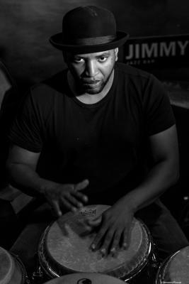 Eliel Lazo (2017) in Jimmy Glass Jazz Club. Valencia.