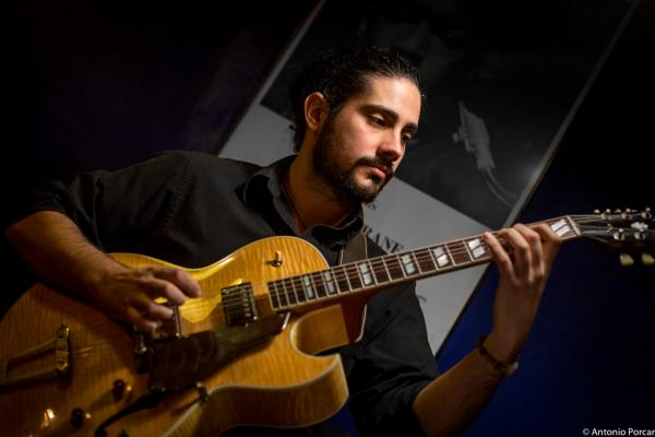 Ivan Cebrian (2015) in Jimmy Glass Jazz Club. Valencia