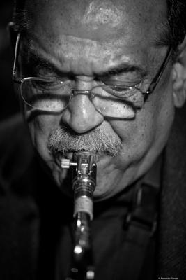 Ernie Watts (2016) at Jimmy Glass Jazz Club. Valencia.