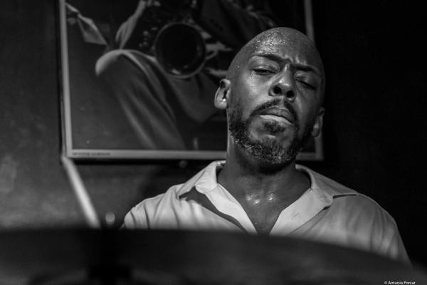 E. J. Strickland (2017) at Jimmy Glass Jazz Club. Valencia.