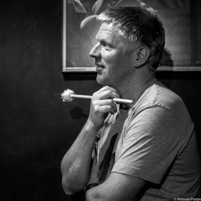 Martin Andersen (2015) in Jimmy Glass Jazz Club. Valencia