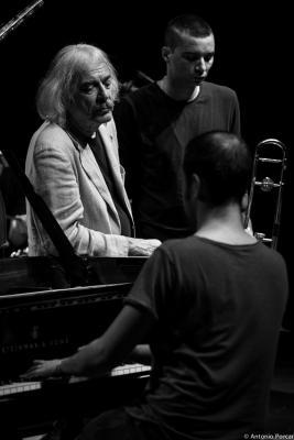 Enrico Rava, Gianluca Petrella and Giovanni Guidi (2014)