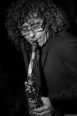 Ramon Cardo (2016) in Jimmy Glass Jazz Club. Valencia.