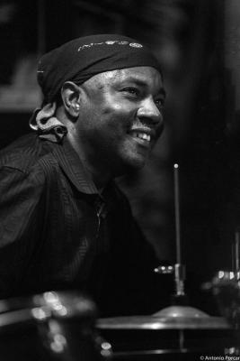 Lenny White (2015) in Jimmy Glass Jazz Club. Valencia.