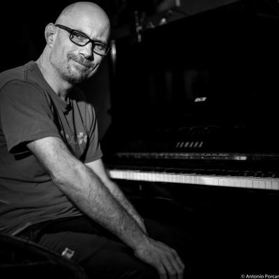 Laurent Coq (2015) in Jimmy Glass Jazz Club. Valencia.