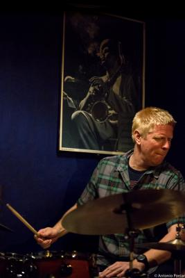 Martin Andersen (2015) in Jimmy Glass Jazz Club. Valencia
