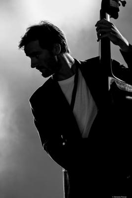 Hendrik Mueller in Getxo Jazz 2016.