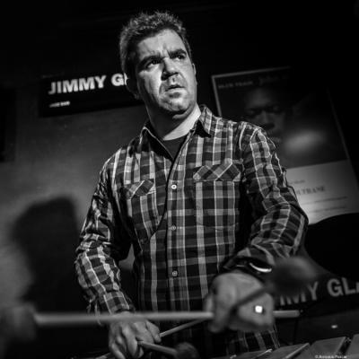 Jeffery Davis (2017) in Jimmy Glass Jazz Club. Valencia.
