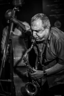 George Garzone (2018) at Jimmy Glass Jazz Club. Valencia.