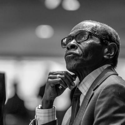 George Cables (2017) in Saint Peter's Church of NYC. Bobby Hutcherson Memorial