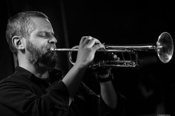Nate Wooley (2014) in Jimmy Glass Jazz Club