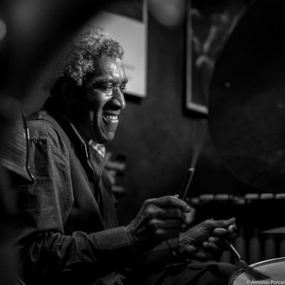 Al Foster (2016) at Jimmy Glass Jazz Club. Valencia