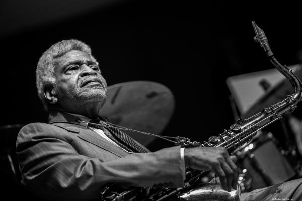 George Coleman (2017) in Saint Peter's Church of NYC. Bobby Hutcherson Memorial