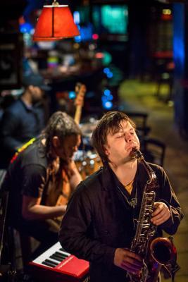 Zhenya Strigalev (2016) in Jimmy Glass Jazz Club. Valencia