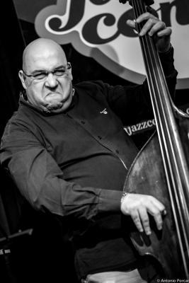 Josef Fečo (2015) in Reduta Jazz Club. Prague