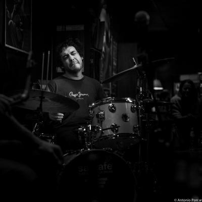 Antoine Paganotti (2014) en Jimmy Glass Jazz Club