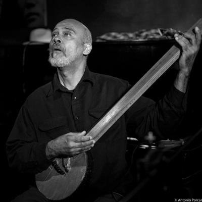 Cooper-Moore (2015) in Jimmy Glass Jazz Club. Valencia.