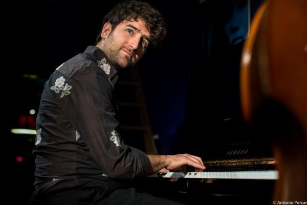 Albert Sanz (2016) in Jimmy Glass Jazz Club. Valencia.