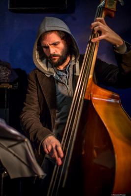 Dee Jay Foster (2016) in Jimmy Glass Jazz Club. Valencia.