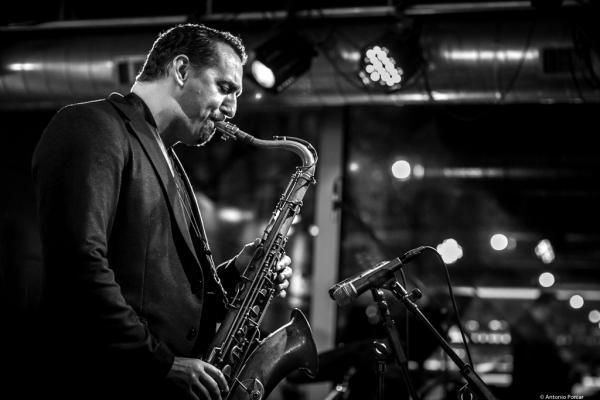 Ondrej Stveracek (2017) at Jazz Dock. Prague .
