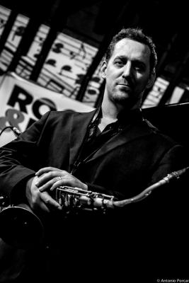 Ondrej Stveracek (2015) at  Reduta Jazz Club Praha .