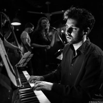 Xavi Torres (2015) in Jimmy Glass Jazz Club. Valencia.
